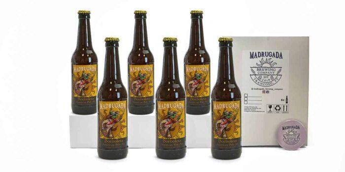 Pack de cerveja artesanal Borboleta - Estilo: American Pale Ale