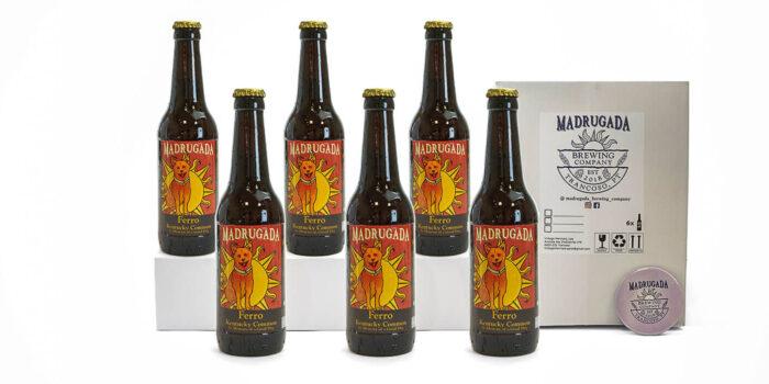 Pack de cerveja artesanal Ferro - Estilo: Kentucky Common