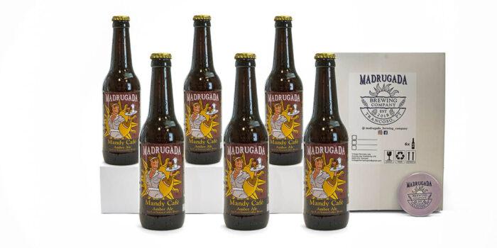 Pack de cerveja artesanal Mandy - Estilo: Amber Ale
